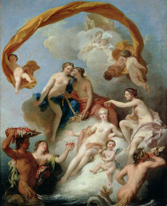 François Lemoyne - The Toilet of Venus