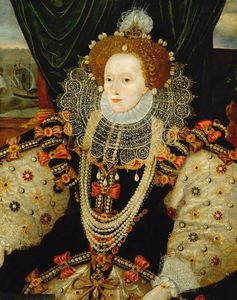 George Gower - Queen elizabeth i