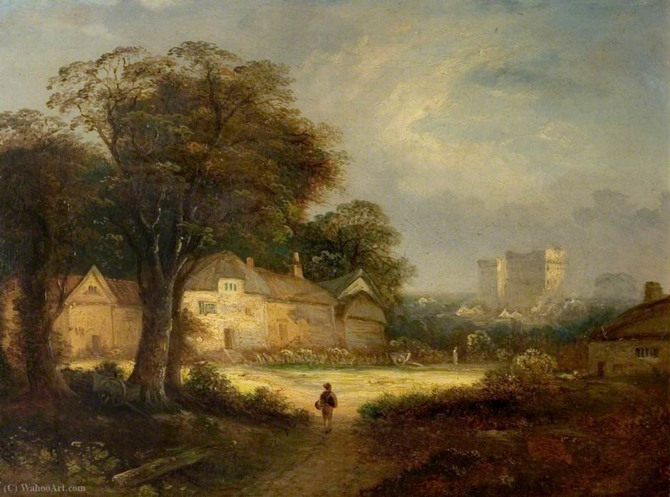 Castle ashby, northamptonshire by George Vincent (1796-1831, United Kingdom)