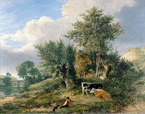 George Vincent - View near Norwich