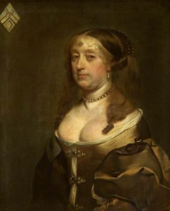 Order Paintings Reproductions | Portrait of an Unknown Lady by Gerard Soest (1600-1681, Germany) | WahooArt.com
