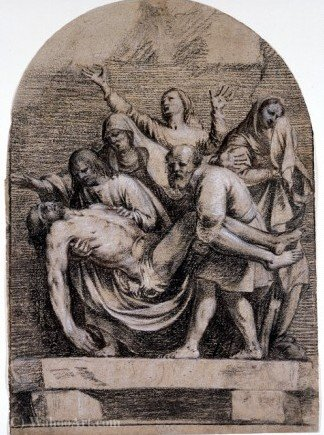 The Entombment of Christ by Guy François (1939-1978, Italy) |  | WahooArt.com
