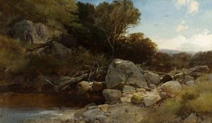 Henry Bright - A welsh stream