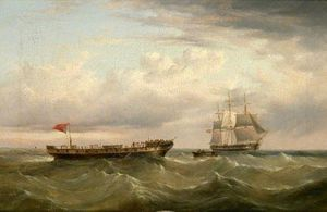 Henry Redmore - The Barque 'Canton' Abandoned