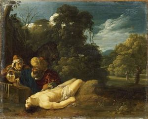 Jacob Symonsz Pynas - The good Samaritan