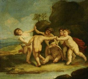 Jacopo Amigoni - Cupids at Play