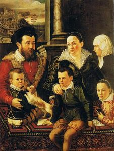 Jacopo Da Empoli - Chimenti Family portrait