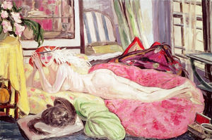 Order Reproductions | The bohemian by Jacqueline Marval (1866-1932, France) | WahooArt.com