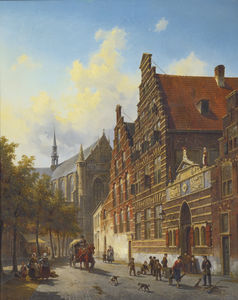 Jacques François Carabain - Weeshuis in Leiden