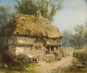 James John Hill - Near Stratford-upon-Avon