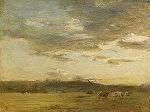 James Lawton Wingate - Golden sunset