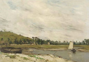 Jean Baptiste Antoine Guillemet - By the sea, Normandy