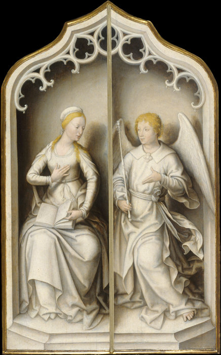 Annunciation - walters by Jean Bellegambe (1470-1534, France) | Art Reproduction | WahooArt.com