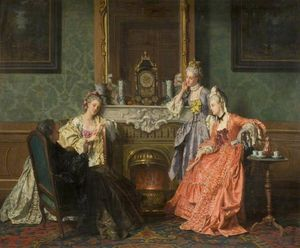Jean Carolus - Afternoon tea