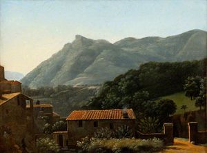 Jean Joseph Xavier Bidauld - View of the Valley of the Arno from Vallombrosa, Early Morning