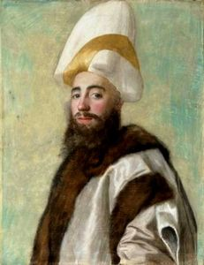 Jean Étienne Liotard - Portrait of a Grand Vizier of Ottoman Empire