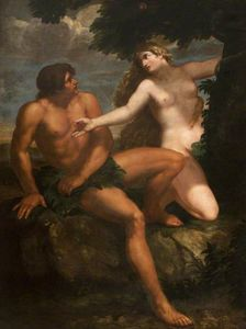 Johann Carl Loth - Adam and Eve