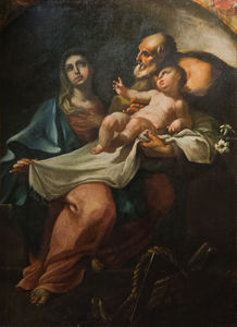 Johann Lucas Kracker - The holy family