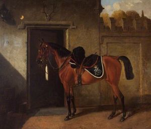 John Alfred Wheeler - -May Queen-, Bath Troop, North Somerset Yeomanry Cavalry