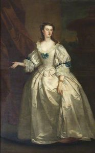John Vanderbank - The Honourable Mary Howard (1710–1740), Mrs George Venables-Vernon