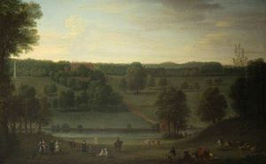 John Wootton - A View of Cassiobury Park