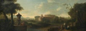 John Wootton - Rome from the Aventine Hill
