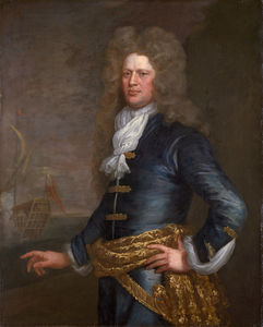 Jonathan Richardson - Portrait of Sir John Balchen