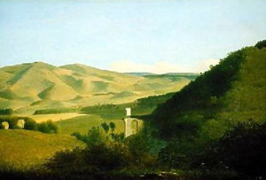 Joseph Augustus Knip - A Valley in the Countryside