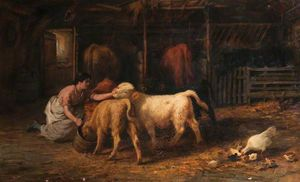 Joseph Denovan Adam - Feeding time