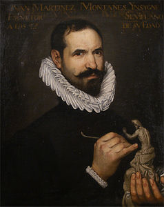 Juan Martínez Montañés - Portrait of the sculptor Martinez Montanes