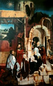 Martin Schaffner - The Adoration of the Magi.
