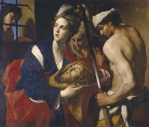Massimo Stanzione - Salome with the Head of John the Baptist