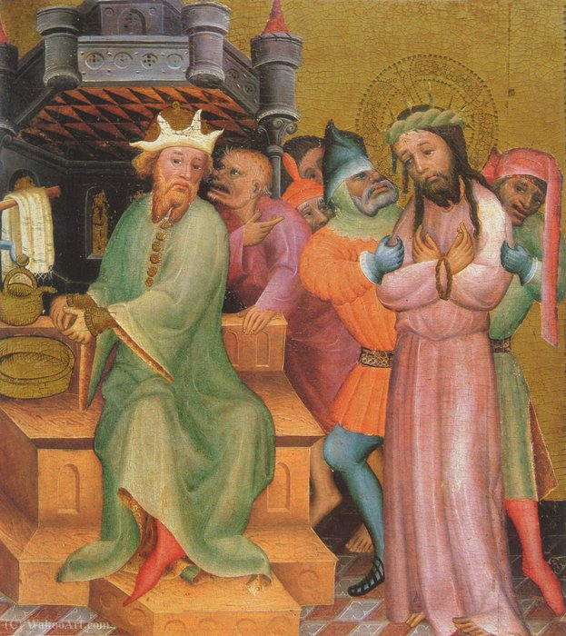 Passionsaltar by Master Bertram (1345-1415, Germany) | Museum Quality Reproductions | WahooArt.com