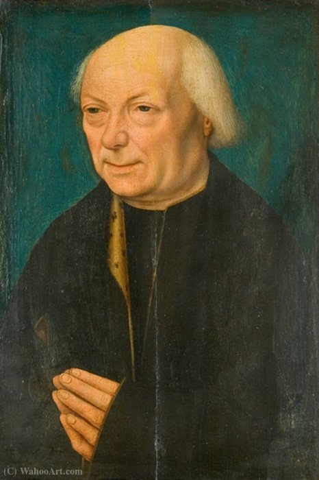 Portrait of an old men by Master Of Magdalen | WahooArt.com