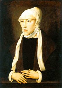 Master Of Magdalen - The widow Queen Mary