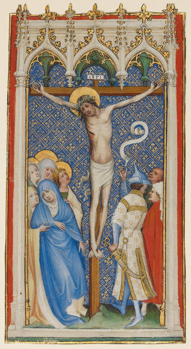 The crucifixion by Master Of Saint Veronica