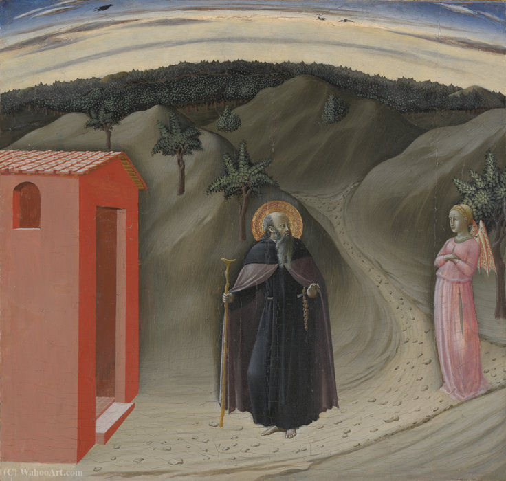 Temptation of Saint Anthony Abbot by Master Of The Osservanza