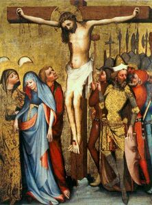 Order Art Reproductions | Crucifixion by Master Of The Trebon Altarpiece | WahooArt.com