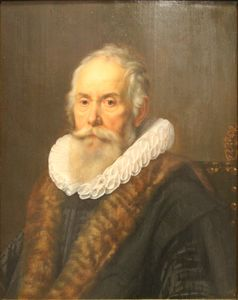 Nicolaes Eliasz Pickenoy - Portrait of a Man