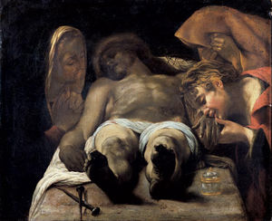 Orazio Borgianni - Lamentation over the Dead Christ