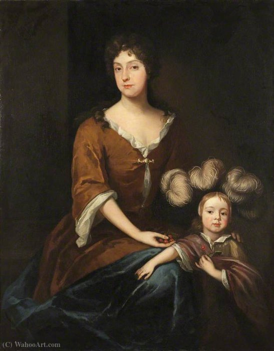 Order Museum Quality Copies | Mary liddell by Peter Tillemans (1684-1734, Belgium) | WahooArt.com