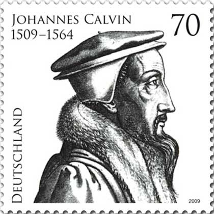 Buy Museum Art Reproductions | Johannes calvin by René Boyvin (1525-1598, France) | WahooArt.com