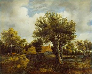 Salomon Rombouts - Landscape with a Farm