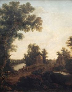 Semyon Fyodorovich Shchedrin - The Stone Bridge in Gatchina near Constable Square