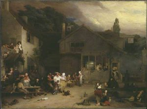 Sir David Wilkie - The village holiday