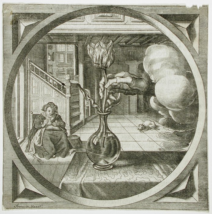 Order Museum Quality Reproductions : Illustration to `Hovwelyck` by Theodor Matham (Dirck Matham) (1605-1676, Netherlands) | WahooArt.com