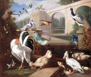 Tobias Stranover - Various Types of Birds (with a Viaduct)