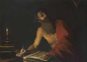 Trophîme Bigot - Saint jerome reading