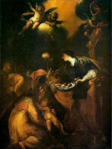 Valerio Castello - Miracle of Saint Zita