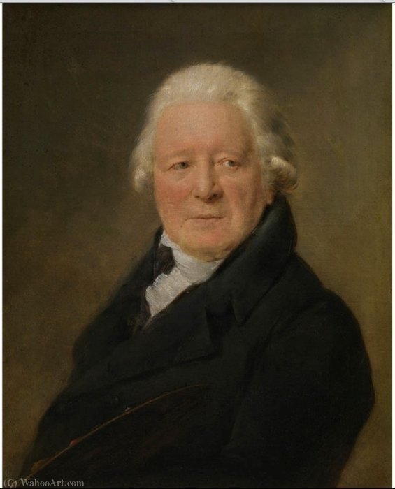 Order Reproductions | Portrait of the painter Willem Jacob Herreyns by Willem Herreyns (1743-1827, Netherlands) | WahooArt.com